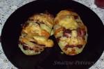 Zapiekane ziemniaki z niespodzianką