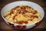 Pudding ryżowy z sosem waniliowym